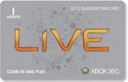 XBOX LIVE - US Gold Membership 1 месяц