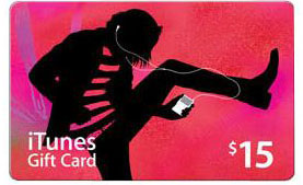 iTunes Gift Card $15 US + CКИДКА