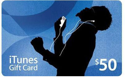 iTunes Gift Card $50 US + CКИДКА