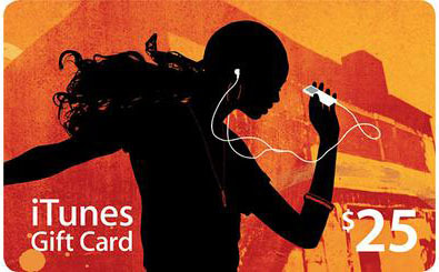 iTUNES GIFT CARD 25$ USA - CODE from scratch card -DISC