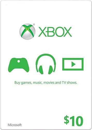 XBOX LIVE 10 USD GIFT CARD (USA)  - СКИДКИ