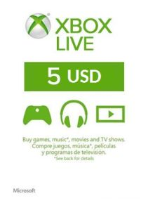 XBOX LIVE 5 USD GIFT CARD US - SUPERDISCOUNTS