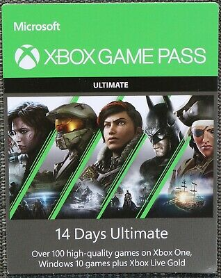 XBOX GAME PASS ULTIMATE for 14 days + 1 month