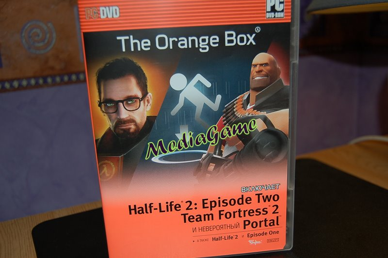 The Orange Box (5 игр Steam, HL2, PORTAL, TF2) +ПОДАРОК