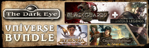 The Dark Eye Universe Bundle Steam gift (RU/CIS)