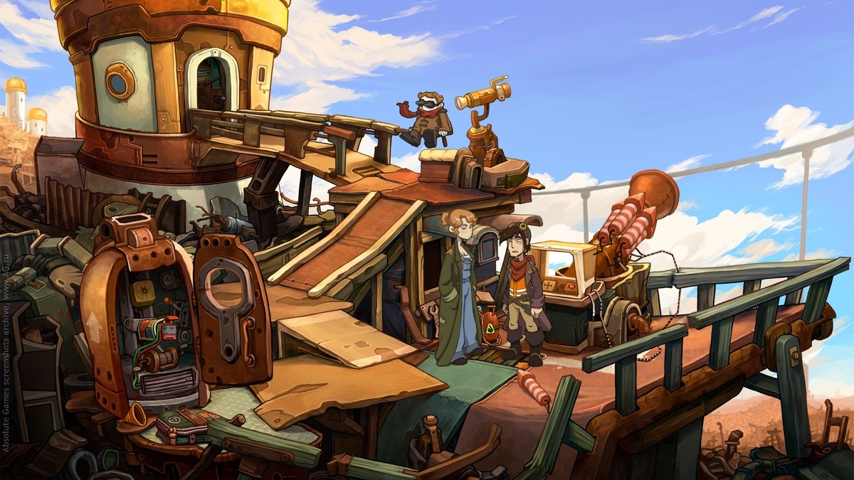 Deponia: The Complete Journey Steam Gift (RU/CIS) БОНУС