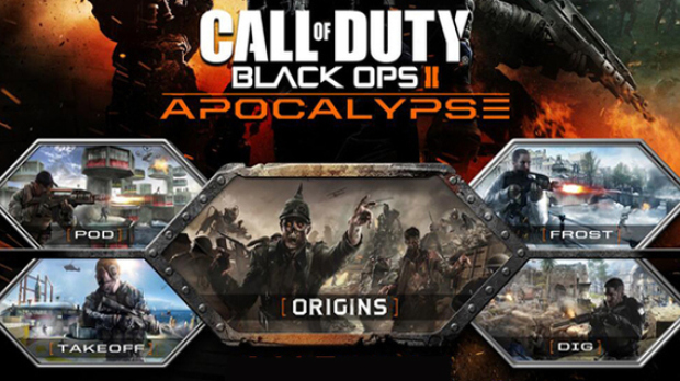 Call of Duty: Black Ops II - Apocalypse(DLC 4) +ПОДАРОК