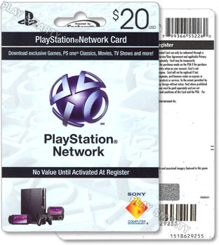 Купить PLAYSTATION NETWORK - 20$ - (PSN/SCAN/USA) + СКИДКИ Code 20 $ (US)