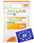 Купить XBOX LIVE - EU/RU/CODE - Карта 800 points + 48ч GOLD 800 MS Points (RU/EU) + 48ч Gold