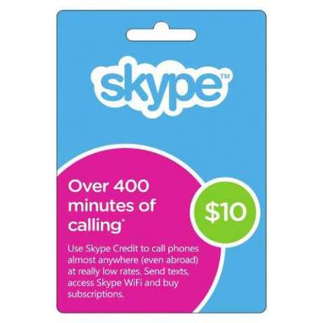 Skype Prepaid Card 10 USD (USA/CODE) + СКИДКИ