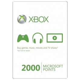 Купить XBOX LIVE - EU/RU/SCAN - Карта 2000 points + 48ч GOLD 2000 MS Points (RU/EU) + 48ч Gold