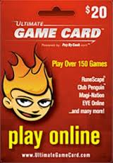 Ultimate Game Card 25$ (USA/SCAN) + СКИДКИ