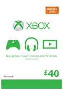 Купить XBOX LIVE - UK/CODE - Карта 40£ + 48ч GOLD Карта 40 GBP (UK) + 48ч Gold