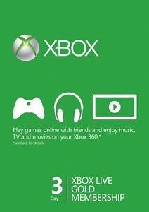 XBOX LIVE - WORLDWIDE/SCAN - GOLD 72 часа + СКИДКИ