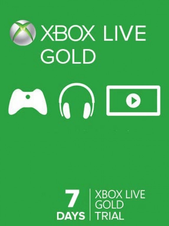 XBOX LIVE - WORLDWIDE/SCAN - GOLD 7 дней + СКИДКИ