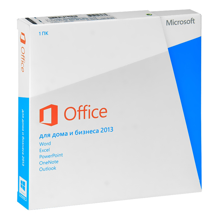 Microsoft Office Home and Business 2013 (RU) 32/64-bit