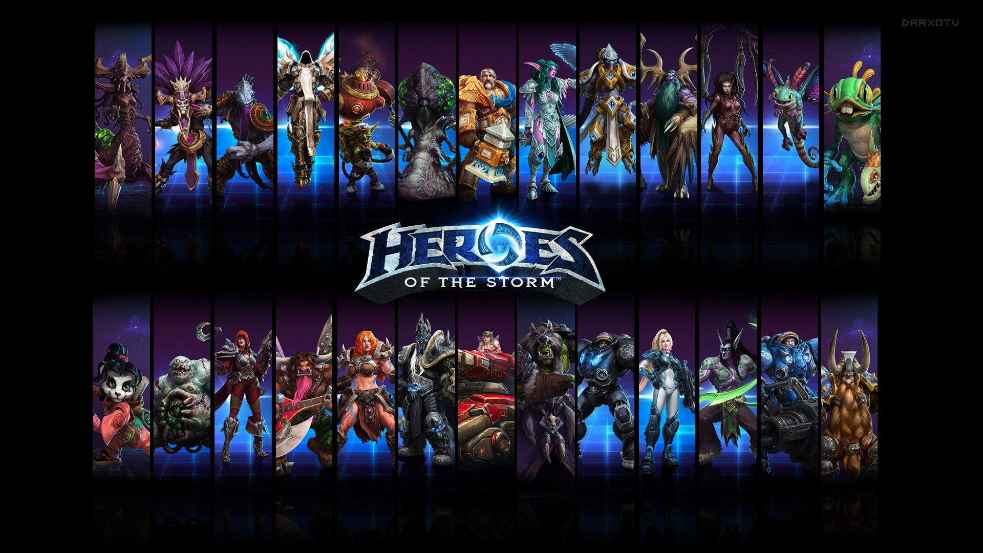 HOTS Heroes of the Storm Прокачка рангов  от RPGcash