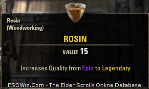 TESO The Elder Scrolls Online Materials and Consuambles