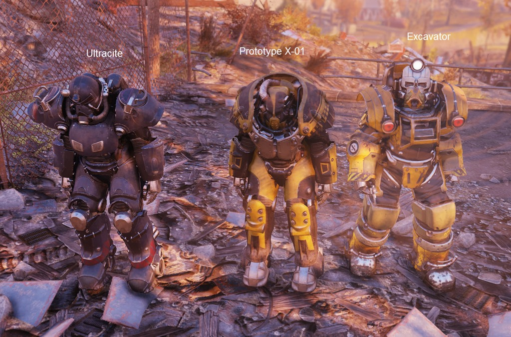Fallout 76 Weapons from RPGCash.ru 2019