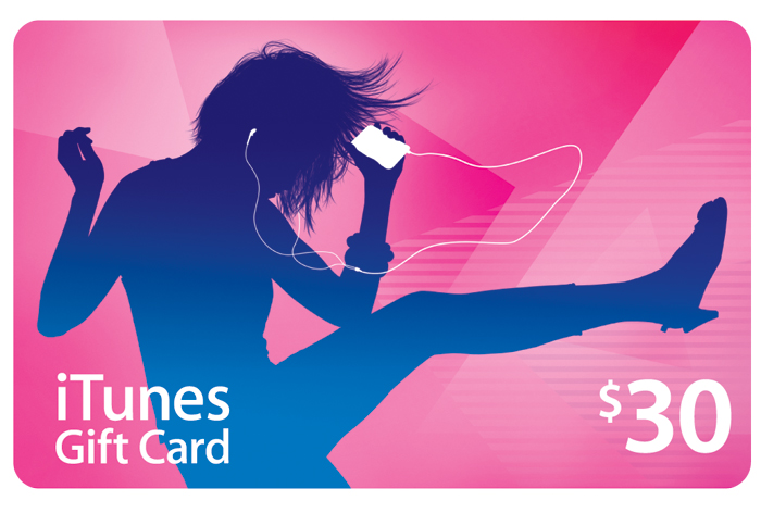 Map iTunes Gift Card $ 30 (USA account) + DISCOUNTS