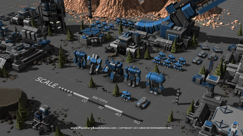Planetary Annihilation (STEAM GIFT/ RU CIS)