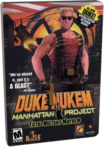 Duke Nukem: Manhattan Project (STEAM KEY ROW)
