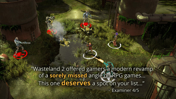 Wasteland 2: Director´s Cut standart(STEAM REGION FREE)