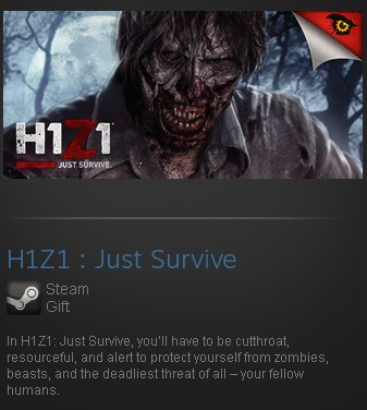 H1Z1 : Just Survive (Steam Gift/Region Free)