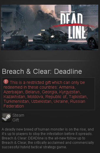 Breach & Clear: Deadline Rebirth (Steam Gift/RU CIS)