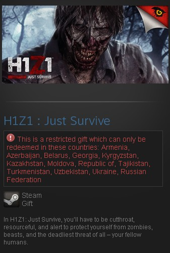 H1Z1: Just Survive (Steam Gift/RU CIS)