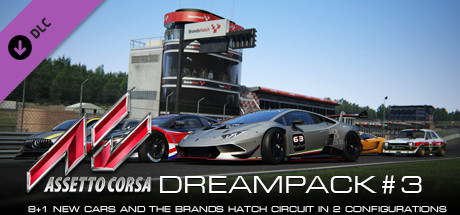 Assetto Corsa - Dream Pack 3 (Steam Gift/RU CIS)
