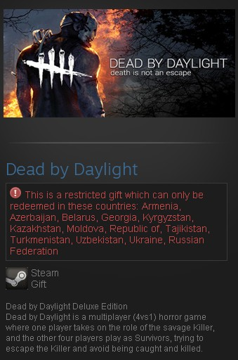 Dead by Daylight Deluxe Edition (Steam Gift/RU CIS)