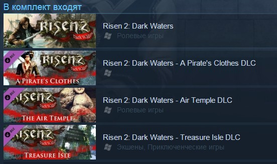 zRisen 2: Dark Waters Gold Edition (Steam Gift/RU CIS)