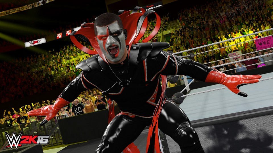 WWE 2K16 + DLC (Steam Gift/RU CIS)