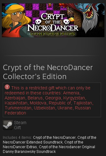 Crypt of the NecroDancer Collector´s Edition (Steam RU)