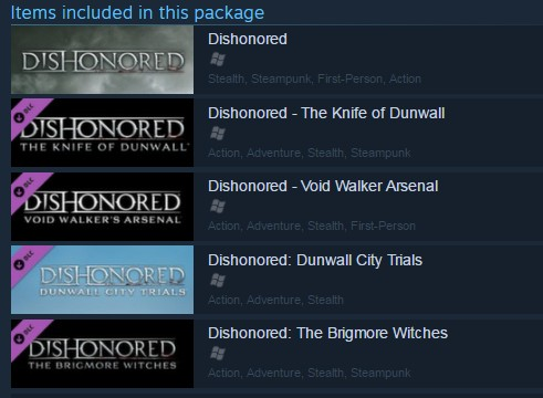 Dishonored - Definitive Edition (Steam Gift/RU CIS)