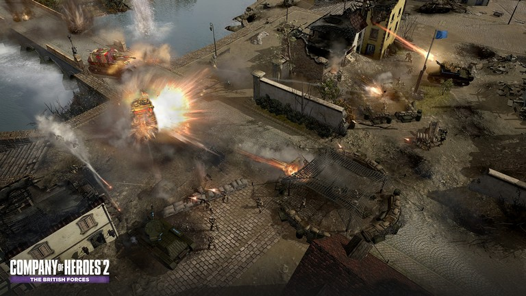 zCompany of Heroes 2 - The British Forces Steam Gift/RU