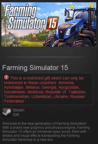 Farming Simulator 15 2015 (Steam Gift/RU CIS)