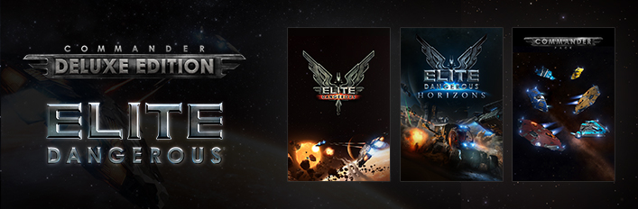 Elite Dangerous: Commander Deluxe Edition Steam Gift/RU