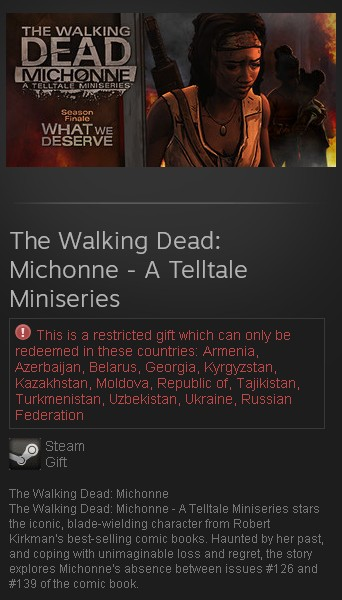 The Walking Dead: Michonne - A Telltale Miniseries (RU)