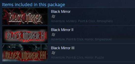 Black Mirror Bundle 1+2+3 (Steam Gift/RU CIS)