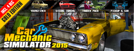 Car Mechanic Simulator 2015 Gold Edition Steam Gift/RU