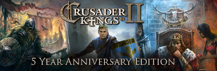 Crusader Kings II: Five Year Anniversary Edition (Gift)