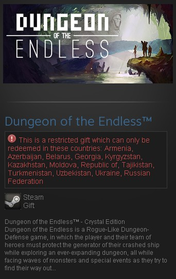 Dungeon of the Endless - Crystal Edition (Steam Gift/RU