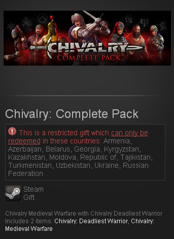 Chivalry: Complete Pack (Steam Gift/RU CIS)