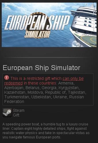 European Ship Simulator (Steam Gift/RU CIS)