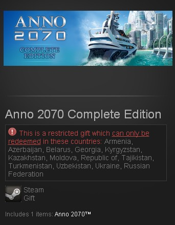 Anno 2070 Complete Edition (Steam Gift/RU CIS) + подаро