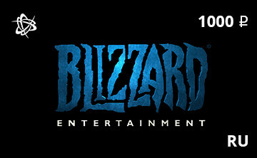 Blizzard Battle.net Gift Card 1000 RUB