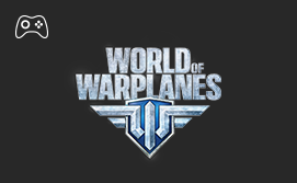 Online replenishment of the game World of Warplanes