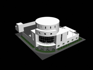3D model of the entertainment complex GLEE